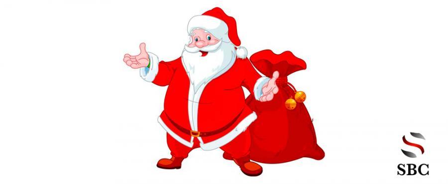 Imagenes De Papa Noel De Navidad.Esta Navidad Papa Noel Para En Sbc Gasolineras